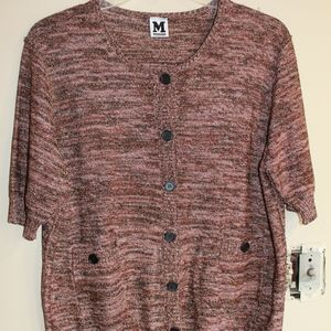 Missoni Cardigan with Half Sleeves